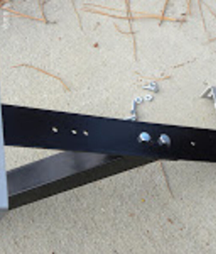 Be sure to keep your mailbox mounting brackets to install on the new post bracket.