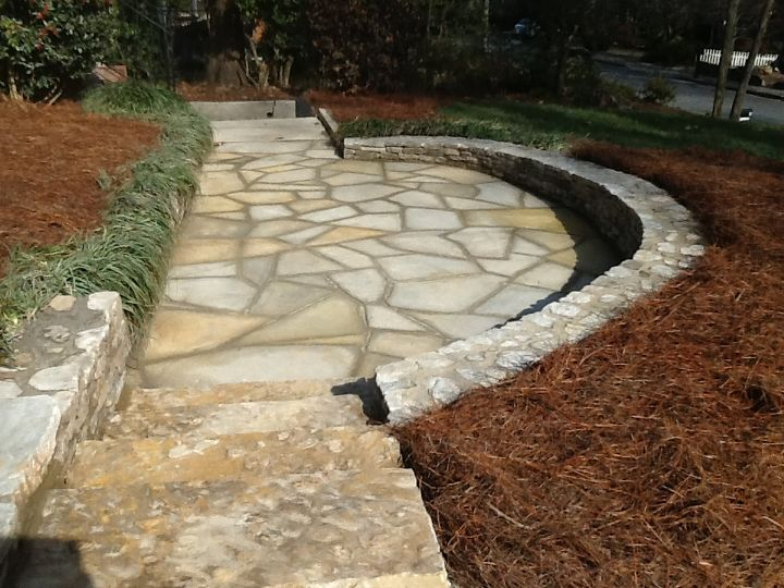 atlanta home, concrete masonry, decks, gardening, landscape, lawn care, outdoor living, After