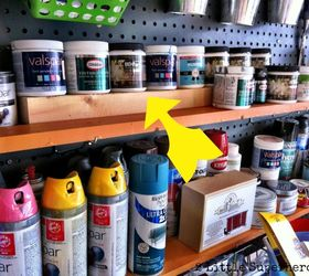 garage paint storage cleaning tips garages shelving ideas storage ideas Added & Garage Paint Storage | Hometalk