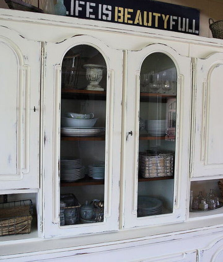 chalk paint my grandmother s hutch, chalk paint, painted furniture
