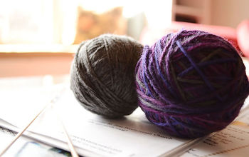 girls knitting weekend, crafts, Find colors from your wardrobe or that compliment your home