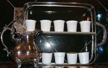 Silver Plate Casserole Shelf