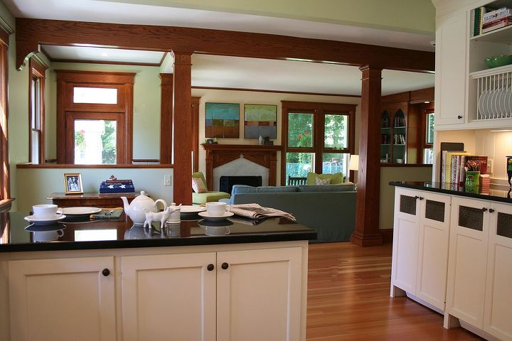 Kitchen/Family Room Renovation: Client wanted the remodel to look as if it had always been a part of their home, which they purchased in 1997. ~ Titus Built, LLC