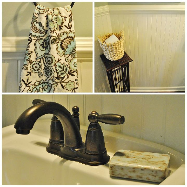 powder room makeover, bathroom ideas, home decor