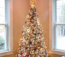 rockin around the vintage christmas tree, christmas decorations, seasonal holiday decor, Rockin Around the Vintage Christmas Tree Inspired by Charm IBCholiday