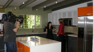 these are a few photos of a unique mid century modern kitchen remodel we honored to, home decor, kitchen design, Lisa LaPorta films our remodel for HGTV