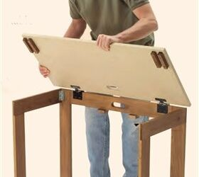 Charmant Q What Type Of Hinges Are Used On The Top Of This Folding Table, Crafts