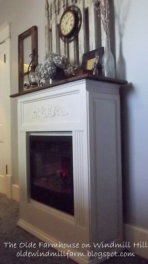 How To Upgrade Your Electric Fireplace Heater On The Cheap Fireplaces Mantels Heating Cooling