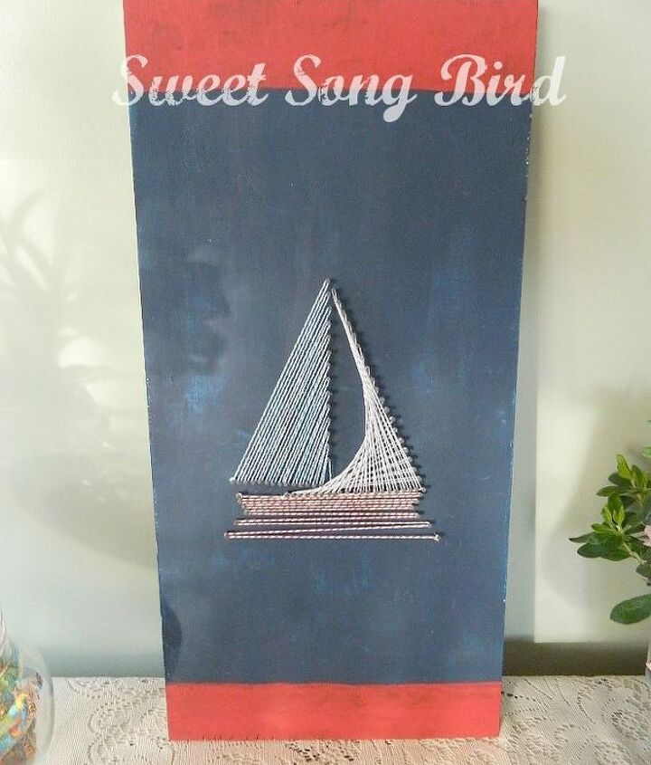 nautical string art, crafts, Yes or no to lettering Perhaps some like Come sail away with me