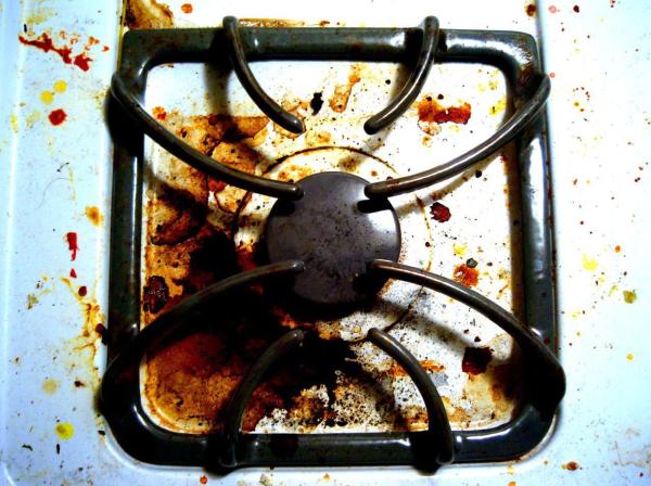 home improvement guru gary sullivan s home remedies, cleaning tips, home maintenance repairs, dirty glass stove top range