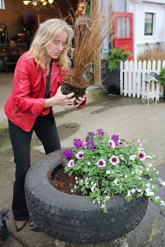 Step 5:  Plant complimentary Perennials and Annuals for maximum texture and colour.