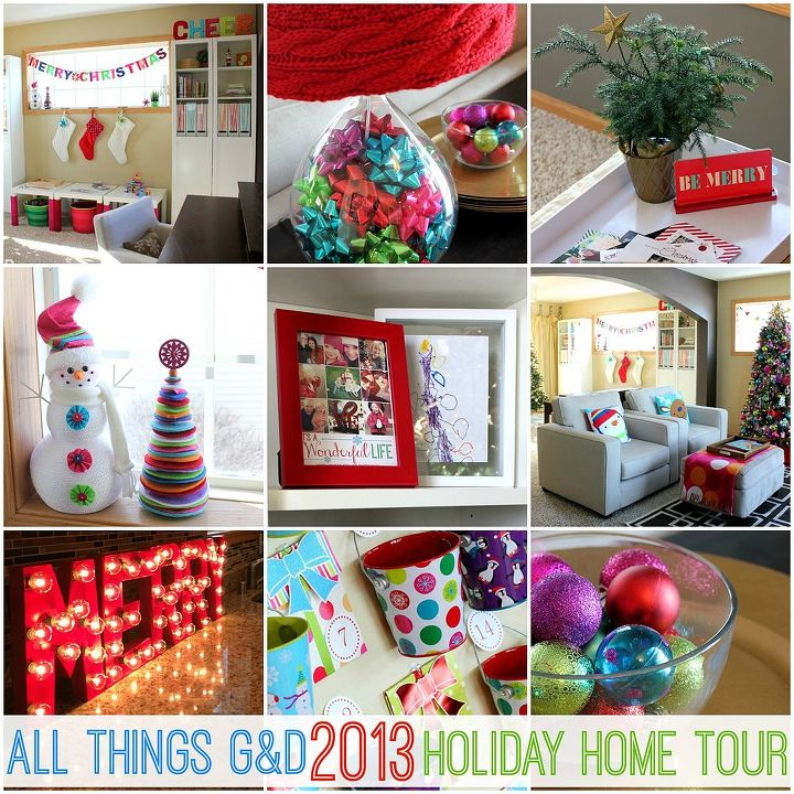 More pics and details can be found on my blog (link below). Thanks so much for visiting - I hope you've enjoyed my holiday ready home!