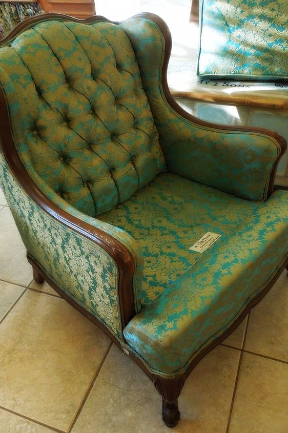 need help dating a vintage chair, painted furniture