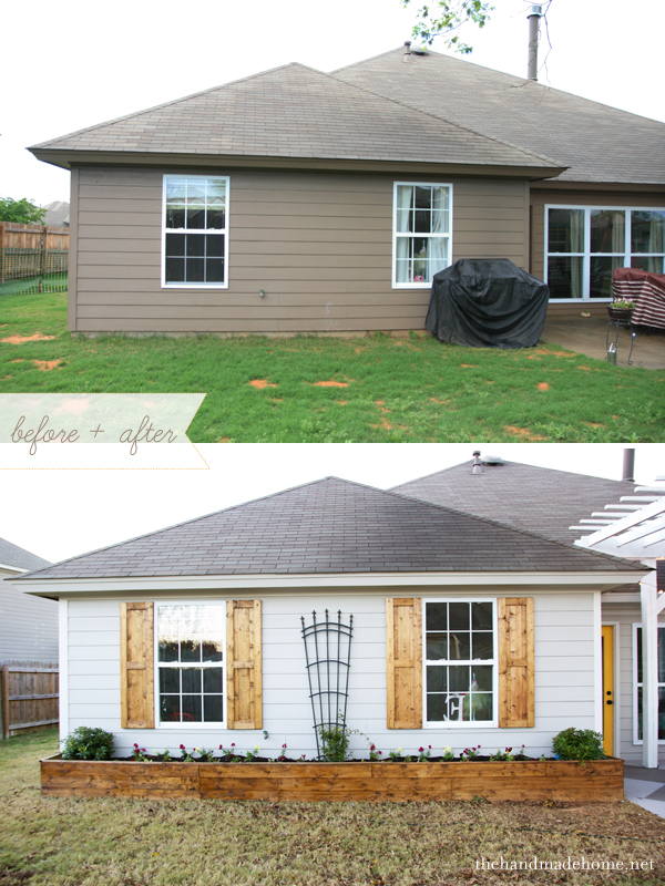 how to build shutter, curb appeal, home maintenance repairs