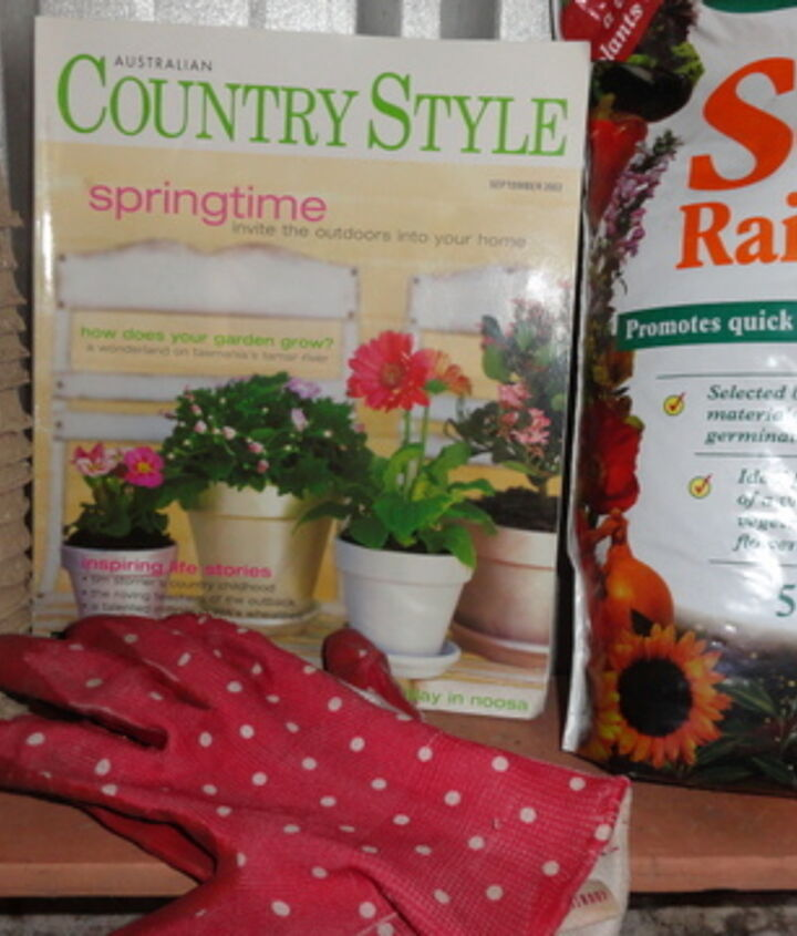 organizing and creating a potting shed, gardening