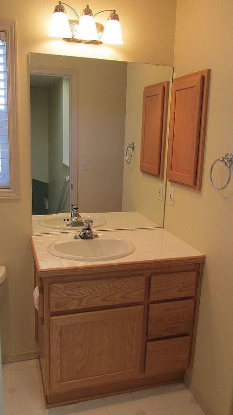 BEFORE: Guest Bath same as the Powder Bath.