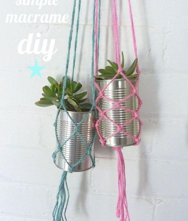 simple macrame diy, crafts
