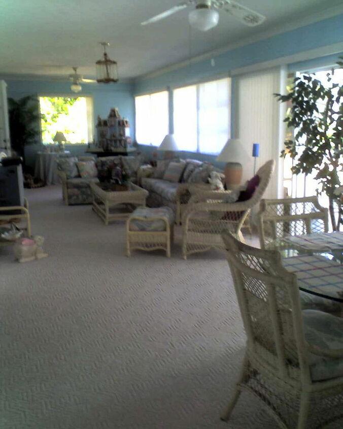 florida room makeover, home decor, living room ideas, outdoor living