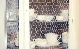 furniture, kitchen cabinets, painted furniture, China Chicken Wire