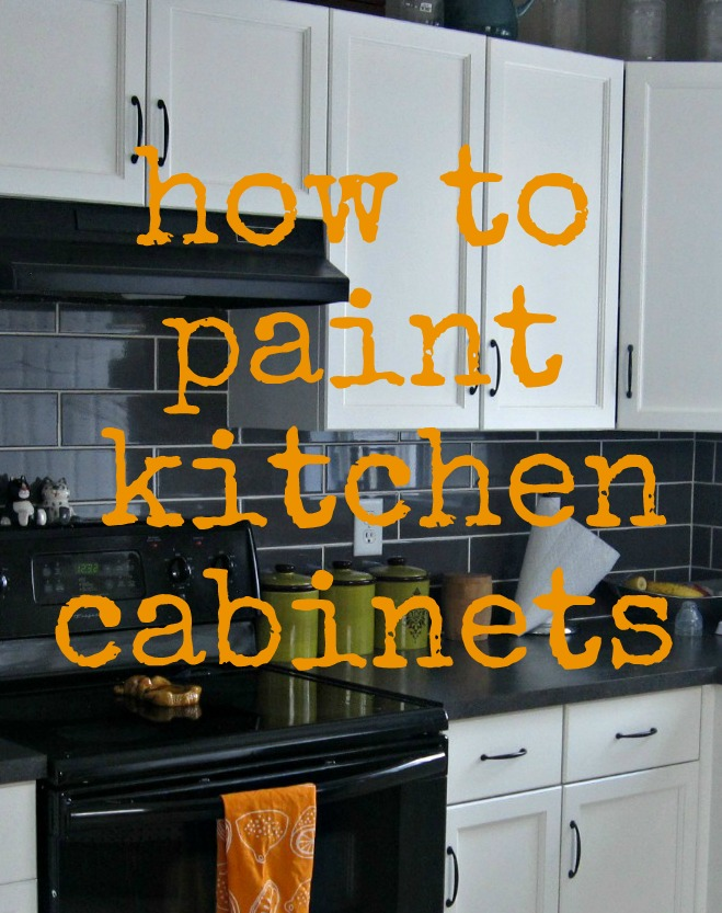 how to paint cabinets, kitchen cabinets, painting