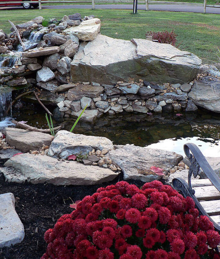 i love fall, outdoor living, ponds water features