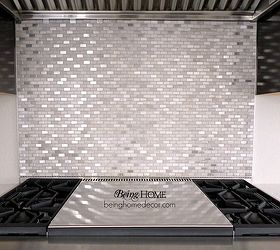 super simple diy tile backsplash home decor kitchen backsplash kitchen design tiling