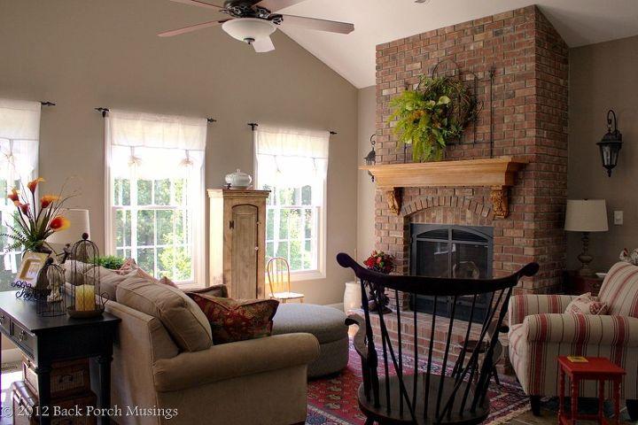 hearth room, home decor, living room ideas