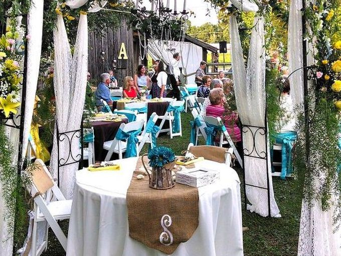a summer country wedding, crafts, mason jars, outdoor living