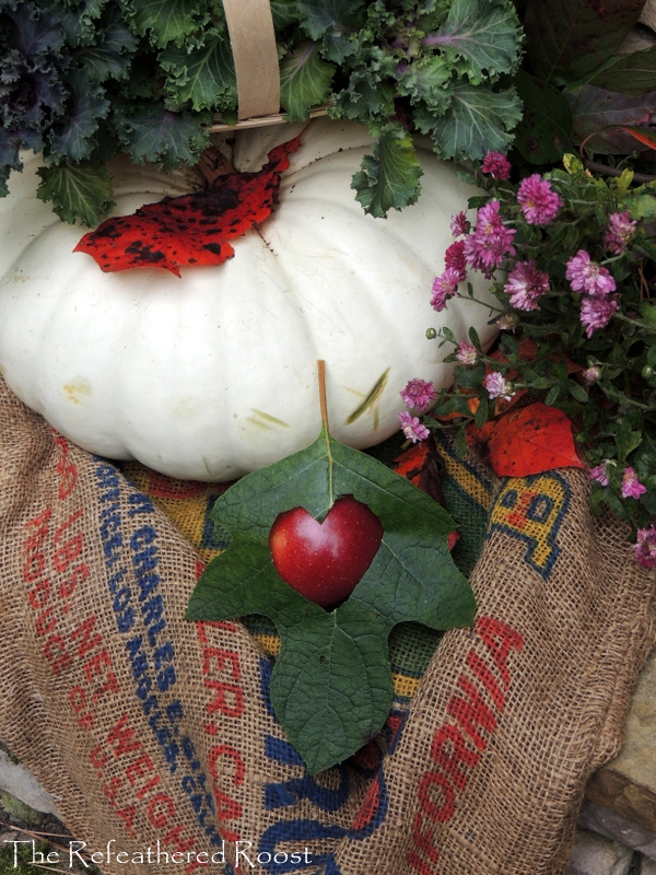 apples and a prayer for your health, gardening, seasonal holiday decor