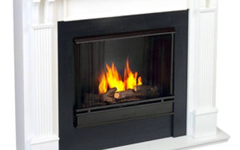 Fireplaces sure are romantic. But what about flueless, gel-alcohol fireplaces?