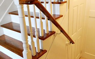 refinishing your stairs diy, diy, how to, painting, stairs, Finished to match larger staircase