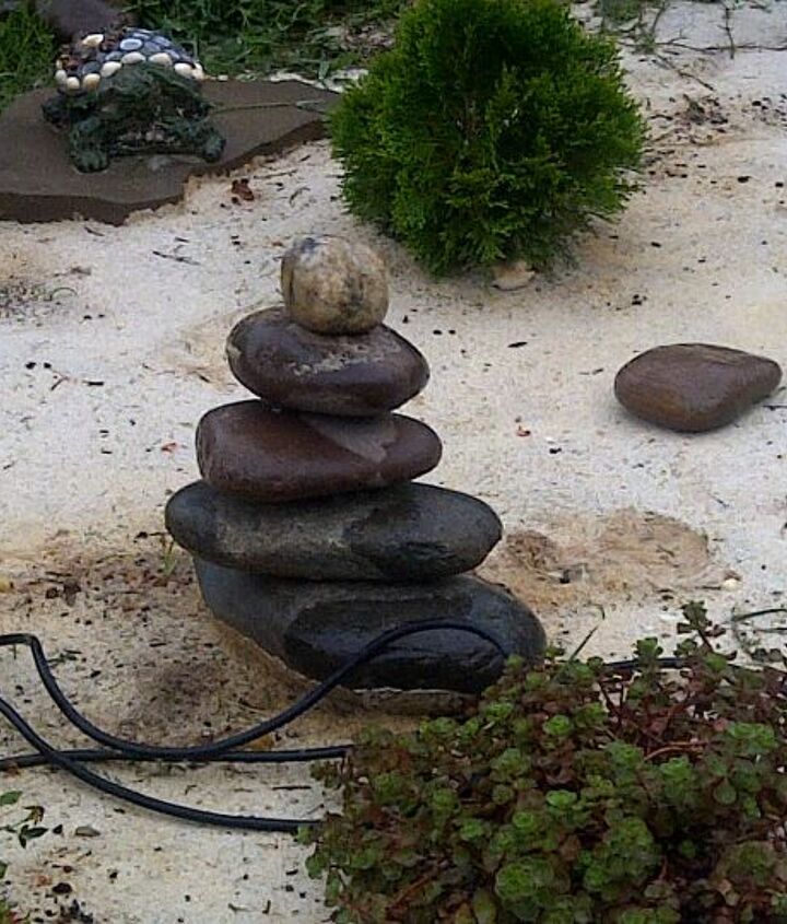 Cairn, spiritual rocks.
