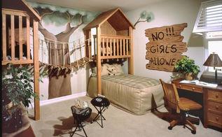 creative camps children s bedroom, bedroom ideas
