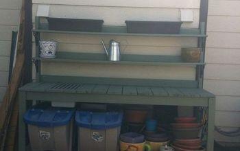 My Custom Gardening Bench
