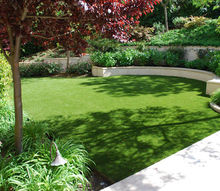 q artificial turf or real grass, gardening, landscape