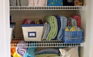 3 steps to an organized linen closet, closet, organizing, 3 easy steps to an organized linen closet