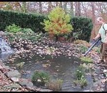premier ponds fall pond netting, landscape, outdoor living, ponds water features