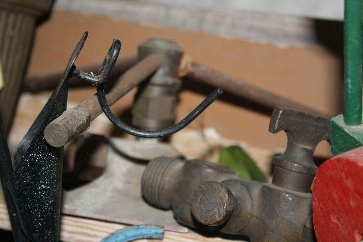 Antique water sprinklers. Awesome engineering..