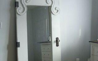 creating a vintage door from an ikea mirror, doors, painting, IKEA Mongstad Mirror