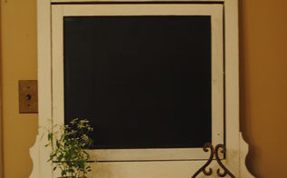transforming old mirror frames, chalk paint, chalkboard paint, painting, repurposing upcycling