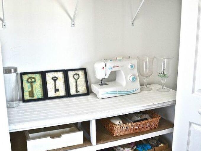 dresser to shelves craft room organization, craft rooms, organizing, repurposing upcycling, shelving ideas, Dresser to shelves Makeover