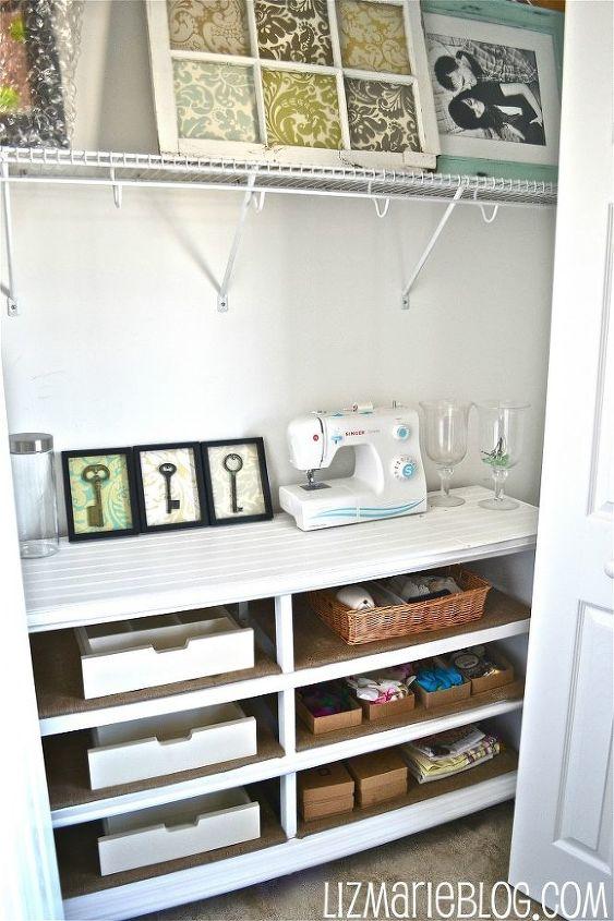 Dresser to shelves Makeover