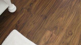 vinyl flooring, flooring, hardwood floors, TrafficMaster Allure 6x36 vinyl plank flooring in Mahogany