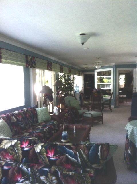 Florida room after