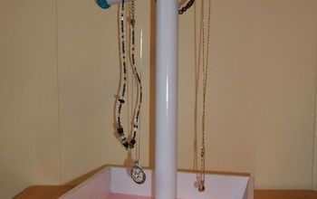 DIY Jewelry Stand - Great Last Minute Mother's Day Gift!