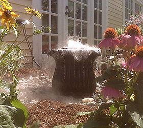 Bird Bath or Fountain?...Lebanon, NH