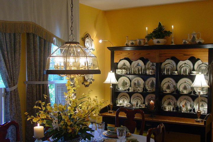 old post office letter cabinet repurposed into china hutch, kitchen cabinets, painted furniture, repurposing upcycling, I love to display my Christmas china year round and this turned out to be a perfect combination for me