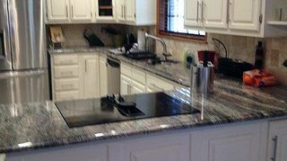 q painting old formica countertops, countertops, painting, Results of above painting procedure in Daytona Beach FL