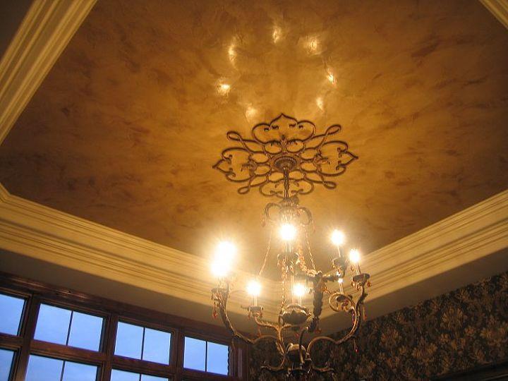 Italian Venetian Plaster - Tray Ceiling
