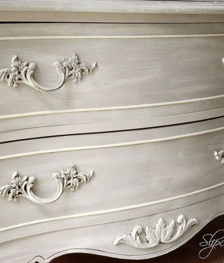 dixie wardrobe given a french inspired makeover, painted furniture